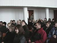 Audience at Konotop Ukraine business seminar